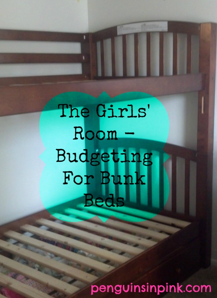 The Girls' Room - Budgeting for Bunk Beds - Step by step how we budgeted for a mini room makeover for our toddler and soon to arrive second daughter for under $1000.