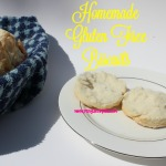Homemade Gluten Free Biscuits - These Gluten Free Biscuits are good you won't believe they are gluten free! Light, fluffy and soft on the inside just like mom used to make.