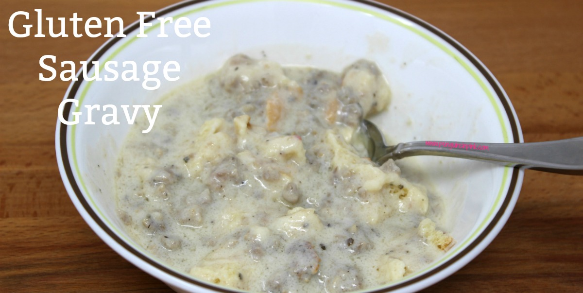 A simple and mouthwatering recipe for gluten free sausage gravy. If you are looking for comfort food then this is the recipe you need. Perfect for weekend brunches, holiday breakfasts, or any time you want some delicious comfort food.