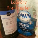 Homemade Laundry Pretreater With Peroxide and Dawn