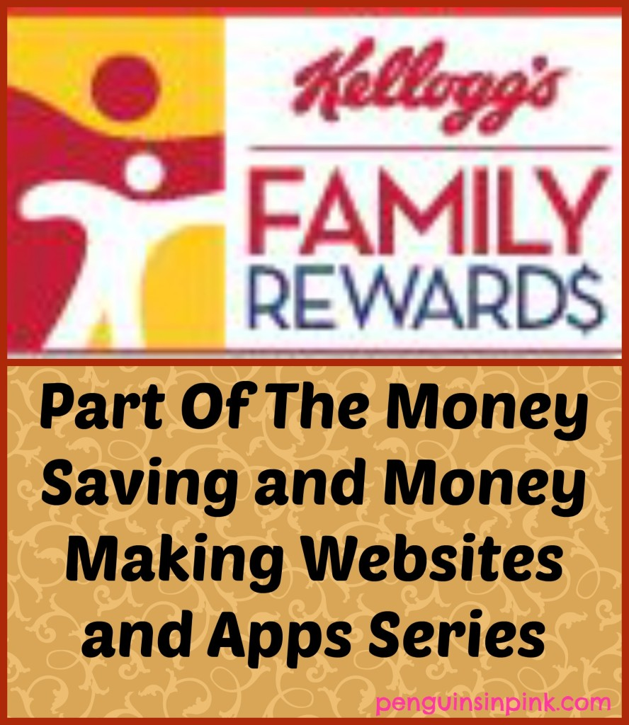 Kellogg's Family Rewards - Part Of The Money Saving and Money Making Websites and Apps Series - Enter codes from specially marked packages and earn free stuff