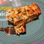 Creamy Crustless Quiche Casserole