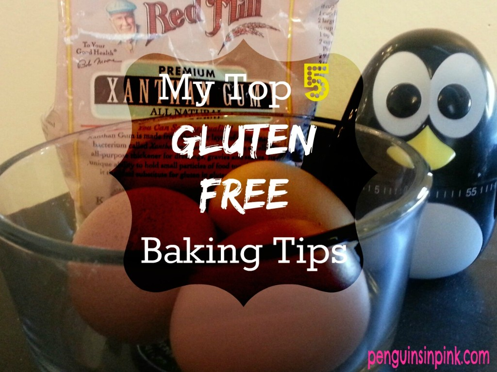 My Top 5 Gluten Free Baking Tips - xanthan gum, activate, eggs, moisture, and time #glutenfree