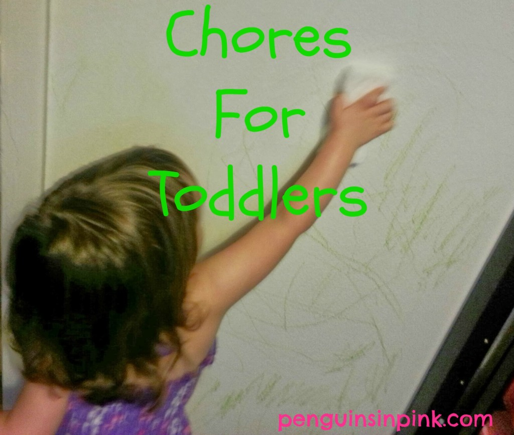 Chores For Toddlers - tackling the fun topic of toddlers and chores.  With a growing list of suggestions on age appropriate chores for toddlers.