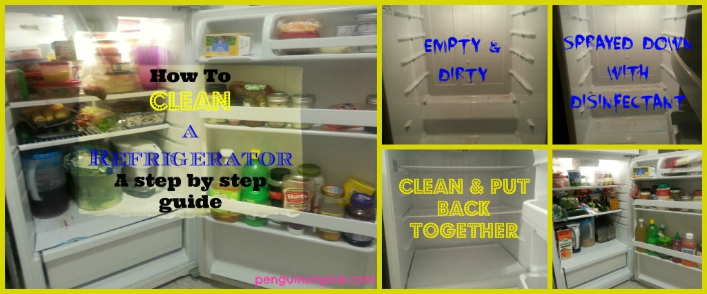 How To Clean a Refrigerator - a step by step guide to help you clean and organize your refrigerator and tips to help you maintain that sparkling cleanness!
