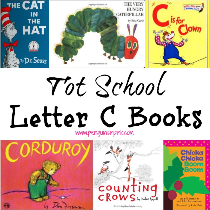 Tot School Letter C Books
