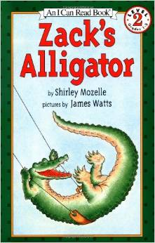 Zack's Alligator by Shirley Mozelle