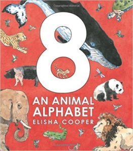 8 An Animal Alphabet by Elisha Cooper