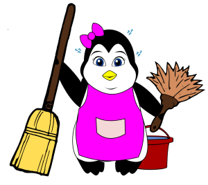 Housekeeping Penguin