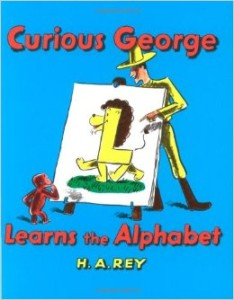 Curious George Learns the Alphabet by H. A. Rey