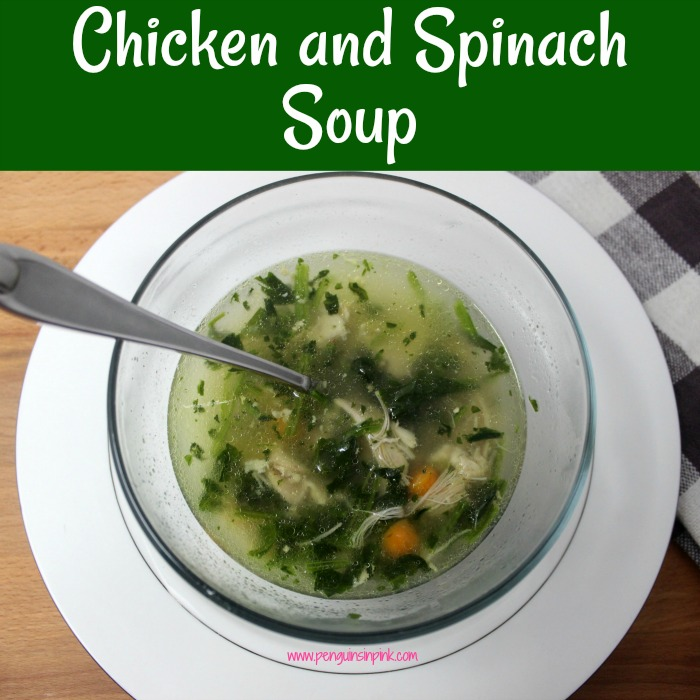 Nothing warms you up like a hot bowl of soup, especially if that soup is Chicken and Spinach Soup which packed with vitamin-rich spinach and a hearty chicken. Chicken and Spinach soup can be adjusted for Keto, low carb, or Trim Healthy Mama.