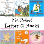 Tot School Letter G Books