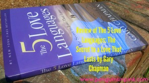 Review of The 5 Love Languages: The Secret to a Love That Lasts by Gary Chapman - James and I read this during our weekly couples Bible study. Come and see what we thought of it and how we implemented the languages of love into our lives.