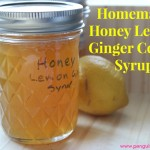 Homemade Honey Lemon Ginger Cough Syrup