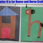 Letter H is for House and Horse Craft