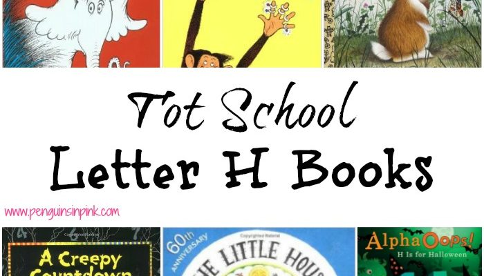 Tot School Letter H Books