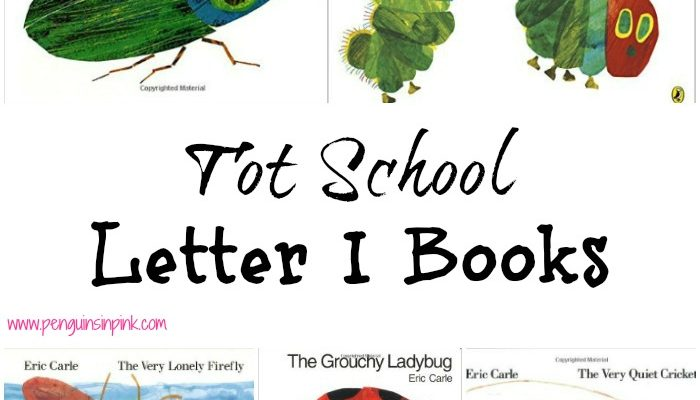 Tot School Letter I Books