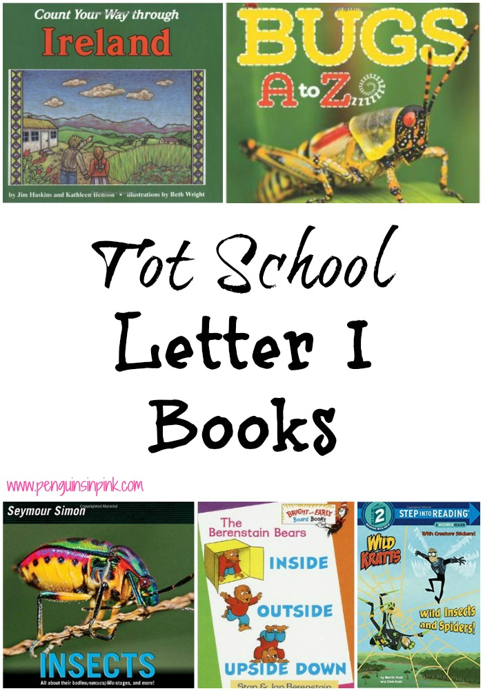 Tot School Letter I Books 10 books to read for toddler totschool or preschool study of the letter I. Some books are on two year old level but most are on a higher level