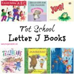 Tot School Letter J Books