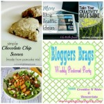 Bloggers Brags Weekly Pinterest Party Wk 81