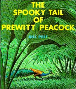 The Spooky Tail of Prewitt Peacock by Bill Peet