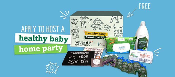 Exciting News From the Generation Good Community - Seventh Generation's Generation Good Community is now accepting applications to host your very own Healthy Baby Home Party! #HealthyBabyHomeParty #GenerationGood
