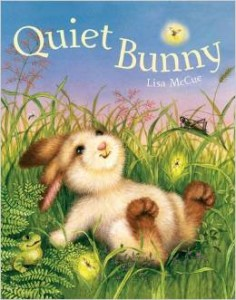 Quiet Bunny by Lisa McCue