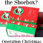 What's Inside the Shoebox? What our family put in our first Samaritan's Purse Operation Christmas Child Shoebox #samaritanspurse #operationChristmasChild