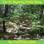 Tips for Beginning Family Hiking. Yes, Even With Littles - What I wish we had known before we decided to go for a hike one day! 14 tips to consider before beginning hiking as a family.