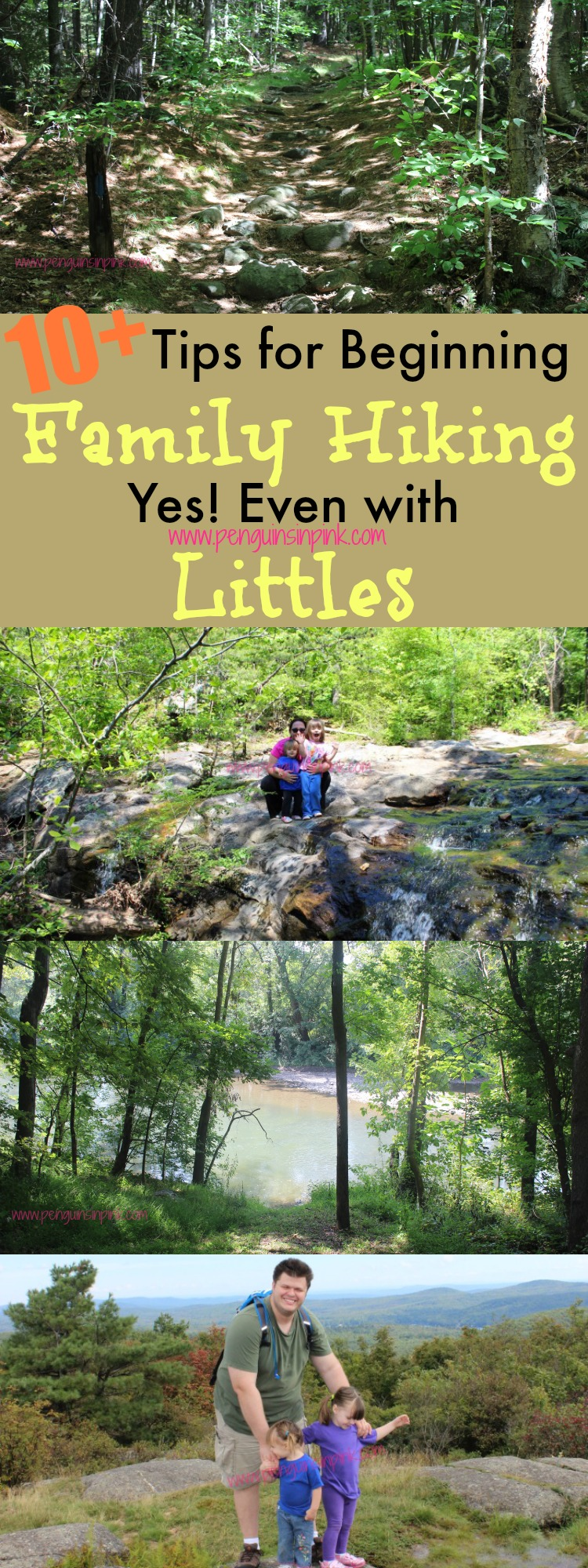 Tips for Beginning Family Hiking. Yes, Even With Littles - What I wish we had known before we decided to go for a hike one day! 10 plus tips to consider before beginning hiking as a family.
