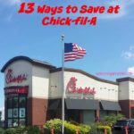 Do you love Chick-fil-A? It can get a bit expensive, right? Check out these 13 ways to save at Chick-fil-A using old favorites like the Calendar Card and new soon to be favorites like the Chick-fil-A one app.