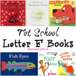 Tot School Letter F Books