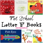 Tot School Letter F Books 10 books to read for toddler totschool or preschool study of the letter F. Some books are on two year old level but most are on a higher level
