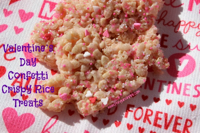 4 Crispy Rice Treats for Valentine's Day - 4 fun and festive twists on classic crispy rice treats that are perfect for your Valentine's Day celebration.
