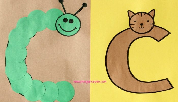 Letter C is for Caterpillar and Cat Craft