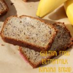 Gluten Free Buttermilk Banana Bread