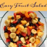 Strawberries, blueberries, pineapple chunks, clementines, and bananas combine to create an easy fruit salad. Perfect for a potluck or as a simple side dish for dinner or a snack.