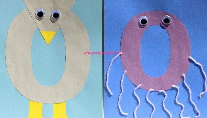 Letter O is for Owl and Octopus Craft