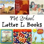 Tot School Letter L Books