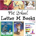 Tot School Letter M Books 11 books to read for toddler totschool or preschool study of the letter M. Some books are on two-three year old level but most are on a higher level