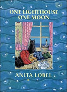 One Lighthouse, One Moon by Anita Lobel