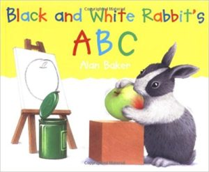 Black and White Rabbit's ABC by Alan Baker