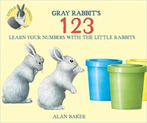 Gray Rabbit's 123 by Alan Baker