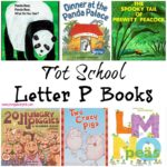 Tot School Letter P Books
