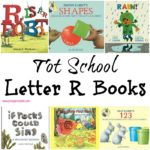 Tot School Letter R Books