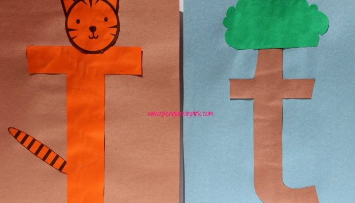 Letter T is for Tiger and Tree Craft