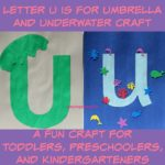 Letter U is for Umbrella and Underwater Craft