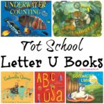 Tot School Letter U Books