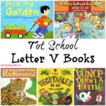 Tot School Letter V Books