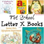 Tot School Letter X Books